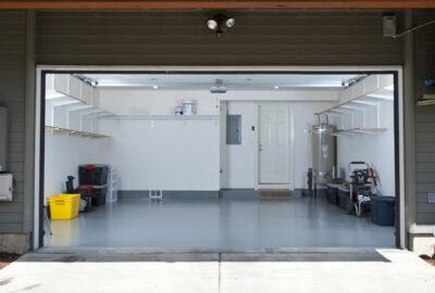 verlichting in de garage