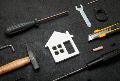 verbouwing van huis