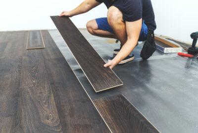 het leggen van een laminaat vloer